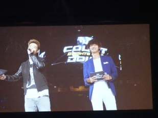 MCs Danny and Jung Joon Young